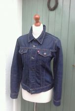 Levi's Red Tab Dark/Indigo Denim Jacket Size Medium 10/12