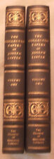 The Collected Papers of Joseph Lister- 2 Volumes  (1979)
