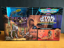 Star Wars Micro Machines Space: Chewbacca/Endor Transforming Playset