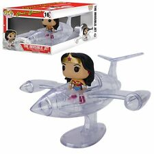 FUNKO POP DC HEROES WONDER WOMAN THE INVISIBLE JET #16 WITH FIGURE In Stock