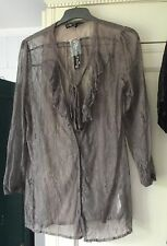 MELA LOVES LONDON GREY BLOUSE/TOP -  SIZE L - BRAND NEW