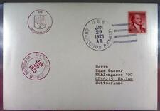 USS Charleston 1973 Navy Sea Post Marine Schiffspost Ship Navire Schiff U281