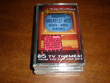 Television's Greatest Hits CASSETTE Black & White NEW