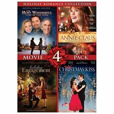Holiday Romance Collection Movie 4 Pack (A Christmas Kiss, Holiday Engagement, T