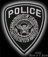 US DEPARTMENT OF DEFENCE POLICE Iron-On / Sew-On Patch - #4M03
