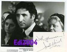 JUDD HIRSCH & SHELLEY WINTERS Vintage Original 1978 Photo & AUTOGRAPH CARD