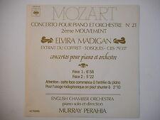"MOZART : CONCERTO N°21 EN UT K 467 2eme MOUVEMENT ""ELVIRA MADIGAN"" ► 45 Promo ◄"
