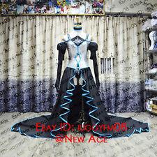 Vocaloid Hatsune Miku Synchronicity Dress Cosplay Costume Headdress Underwear