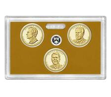 2016 S PRESIDENTIAL President Dollar 3 Coins w/o coa from Proof Set 16RG