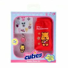 Disney Cuties Winnie The Pooh Mobile Phone Kit Pack Sock Kids Gift Pack