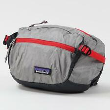 Patagonia Light Weight Travel Hip Pack 3 Litre Capacity Drifter Grey Bumbag