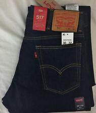 Levi's Mens 517 Bootcut 30x32 Dark Blue Rinsed Indigo Jeans  New W/Tags Pants