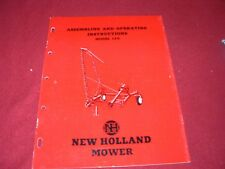 New Holland 120 Mower Operator's Manual WPNH