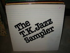 VARIOUS TK / T.K. jazz sampler ( jazz ) - 2lp -