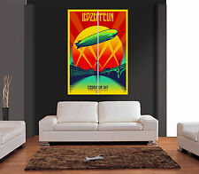 LED ZEPPELIN CELEBRATION DAY Giant Wall Art Print Picture Poster