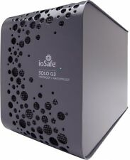 NEW IoSafe SOLO G3 4TB Waterproof Disaster & Fire Proof Hard Drive w/ Cable