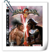 PS3 Soul Calibur IV Sony PlayStation Namco Bandai Games Fighting