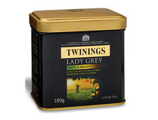 Twinings Exclusive Lady Grey loose tea Caddy Zesty and Bright100g