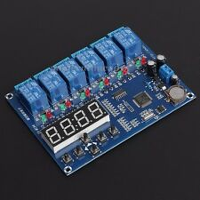 5Bit Timer Delay Relay Module Time Controller 60S AC/DC12V 1PC 120*93*19mm