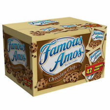 Famous Amos Chocolate Chip Cookies 2oz Bags 42 Pack Count NEW,FREE SHIPPING BEST