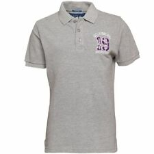Men's UCLA Contrasa Polo T-Shirt - Grey Marl - Size Small - BNWT - RRP: £41.99