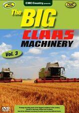 THE BIG CLAAS MACHINERY VOLUME 3 DVD - IRISH FARMING John Deere Tractors