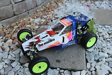 Vintage painted body and wing Team Associated Rc10 Craig's Magazine