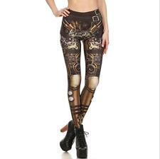 Fashion Sexy Legging Steampunk Star Wars printed legging elastic Slim legging