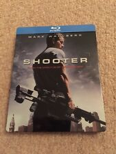 Shooter Blu Ray Steelbook Mark Wahlberg Action UK Release