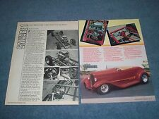 "1932 Ford Roadster Vintage Street Rod Article ""Salvage 1"""
