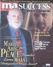 6/04 MA SUCCESS MAGAZINE TERRENCE WEBSTER-DOYLE BLACK BELT KARATE MARTIAL ARTS