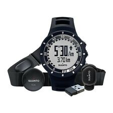 Suunto Quest High Performance Training Sports Watch, Running Pack, Black