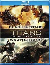 Clash of the Titans / Wrath of the Titans (Blu-ray 2-Disc) EXCELLENT CONDITION