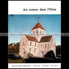 ART BASSE-NORMANDIE N°66 ★ L'ART ROMAN DANS L'ORNE ★ ARCHITECTURE CRYPTE CLOCHER