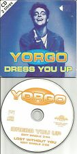 YORGO Dress You Up EDIT MADONNA REMAKE Cover & Lost with you EDIT CD single 1994