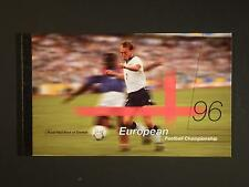 GREAT BRITAIN - 1996 EURO '96 £6.48 PRESTIGE BOOKLET COMPLETE - SG.DX18