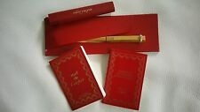 Cartier Vintage Vendome Gold plated ball point pen