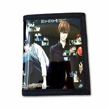 Death Note PU Leather Wallet / Light & L (DEN-B2C)
