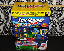 (1) Star Shower Motion Laser Light As Seen on TV Projector - IN HAND FINAL STOCK