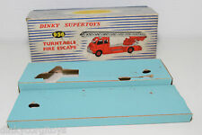 DINKY TOYS 956 TURNTABLE FIRE ESCAPE TRUCK ORIGINAL EMPTY BOX EXCELLENT