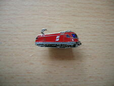 Pin's Broche locomotive électrique ÖBB Ferroviaire rouge Train