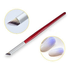 Nail Art Gradient Dizzy Dye Brush Wood Handle Angle Nail Painting Drawing Pen