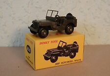 "Dinky Atlas - Hotchkiss-Willys Jeep ""Les Rééditions de Dinky"" No 79  (80) - MiB"