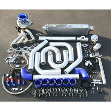 DSM 1G 2G/MIT EVO III FULL STAGE II TURBO CHARGER UPGRADE T04E KIT 300HP BOOST