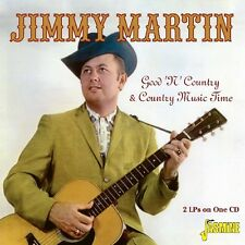 JIMMY MARTIN - GOOD'N COUNTRY  CD NEU