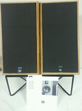 JBL 2600 SPEAKERS WITH STANDS AND INSTRUCTION MANUAL