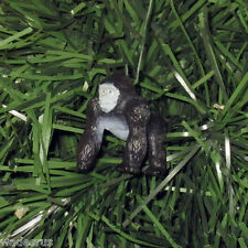 Mini Black Jungle Gorilla - Custom Christmas Tree Ornament Holiday Decoration