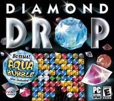 Diamond Drop & Aqua Bubble PC Games Window 10 8 7 Vista XP Computer puzzle match