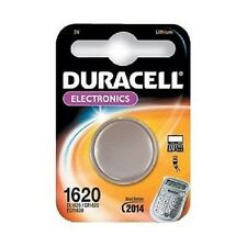 2X CR1620 DURACELL Lithium Coin Battery 1620 DL1620 ECR1620  Long Dated!