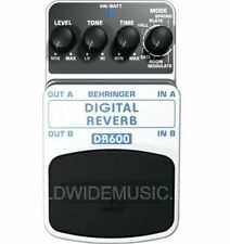 BEHRINGER DIGITAL REVERB DR600 Guitar Pedal Stomp Box